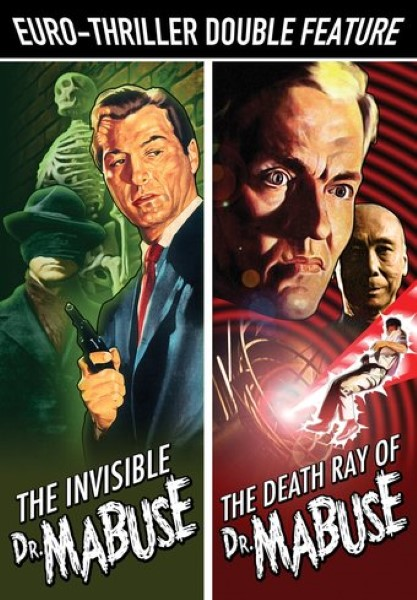 Euro-Thriller Double Feature: The Invisible Dr. Mabuse / The Death Ray Of Dr. Mabuse (DVD)