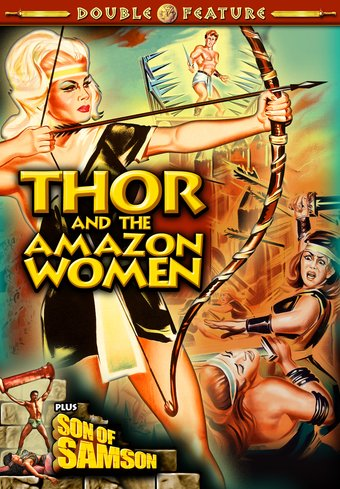 Thor And The Amazon Women / Son Of Samson (DVD)