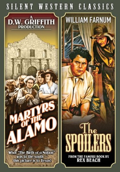 Martyrs Of The Alamo / The Spoilers (DVD)
