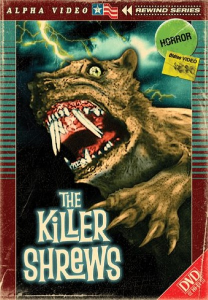 The Killer Shrews (DVD)