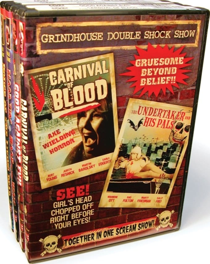 Grindhouse Double Shock Show Collection 1 (4 DVD)