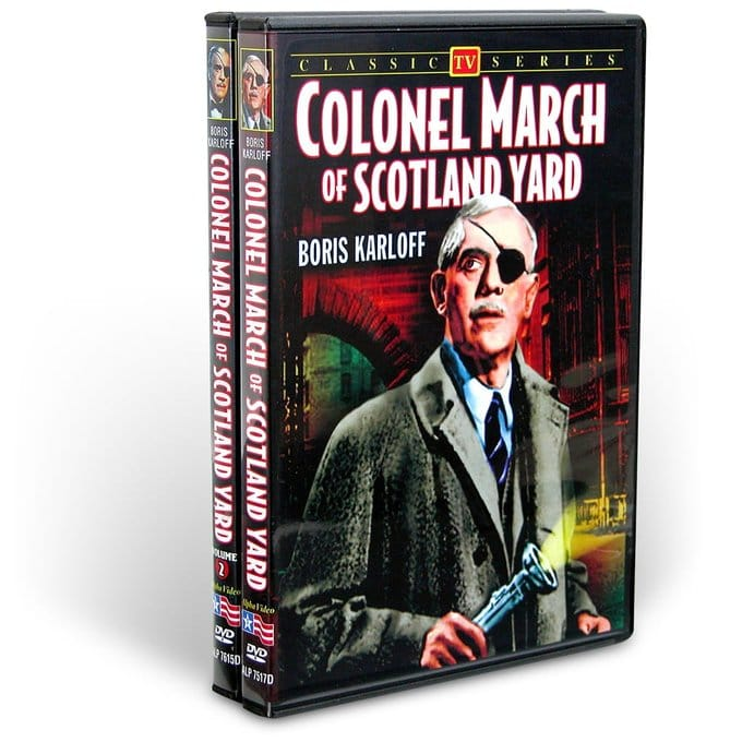 Colonel March Of Scotland Yard Collection (2 DVD)