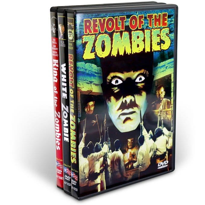 Classics Zombies From The Golden Age Of Horror (3 DVD)