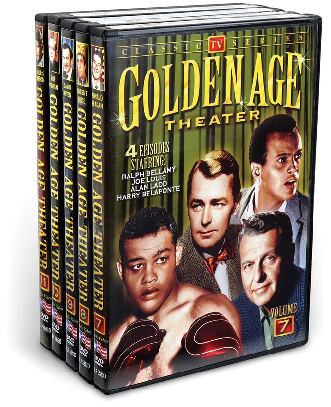 Golden Age Theater, Vol. 7-11 (5 DVD)