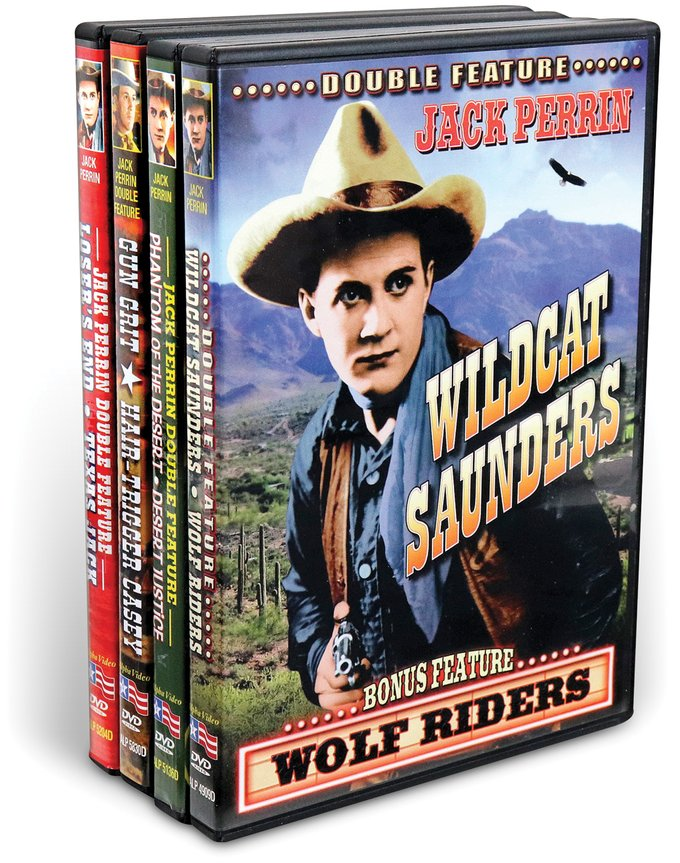 Jack Perrin Westerns Collection (4 DVD)