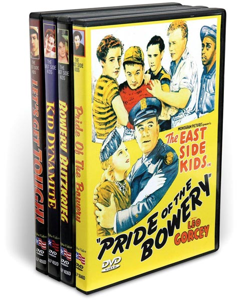 East Side Kids Collection #1 (4 DVD) : Select-O-Hits