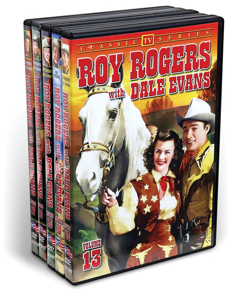 Roy Rogers With Dale Evans, Vol. 13-17 (5 DVD)