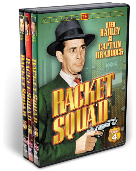 The Racket Squad, Volumes 4-6 (3 DVD)