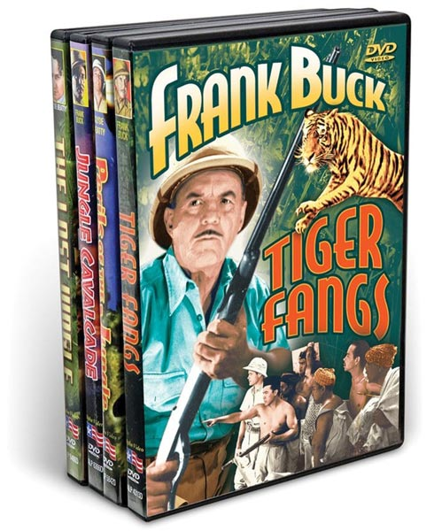 Frank Buck And Clyde Beatty Collection (4 DVD)