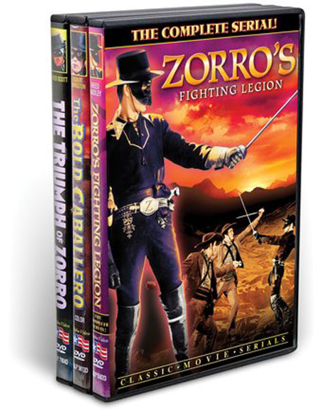 Zorro: The Sign Of The 'Z' Collection (3 DVD)