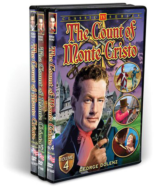 The Count Of Monte Cristo Collection, Vol. 2 (3 DVD)