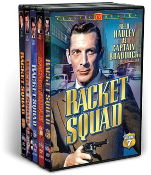 Racket Squad, Volumes 7-11 (5 DVD)