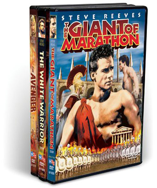 Steve Reeves: Muscle Movie Madness Collection (3 DVD)