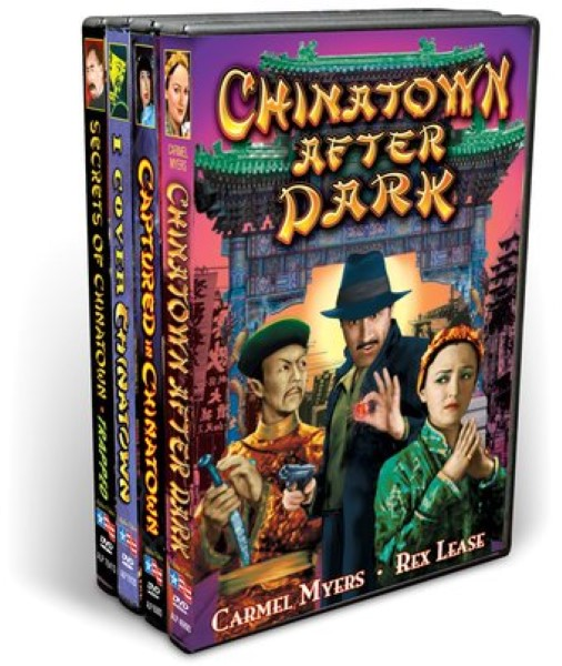 Mysteries In Chinatown Collection (4 DVD)