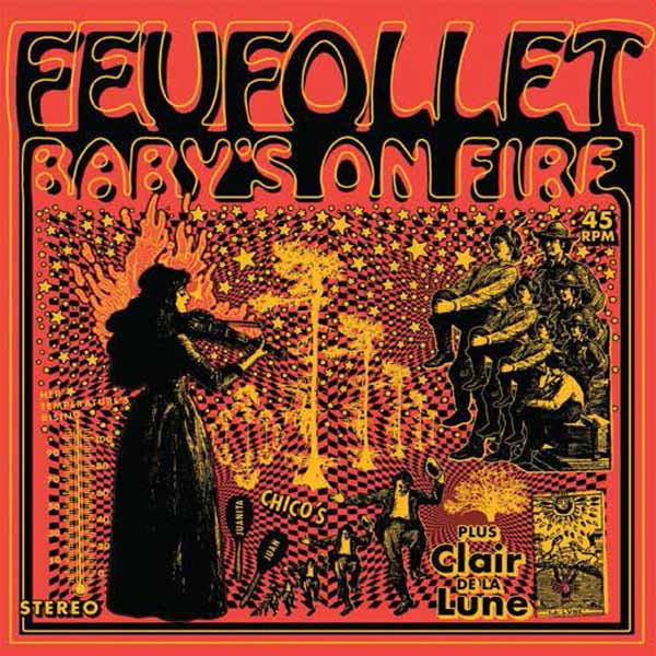 Baby's On Fire (45 RPM)